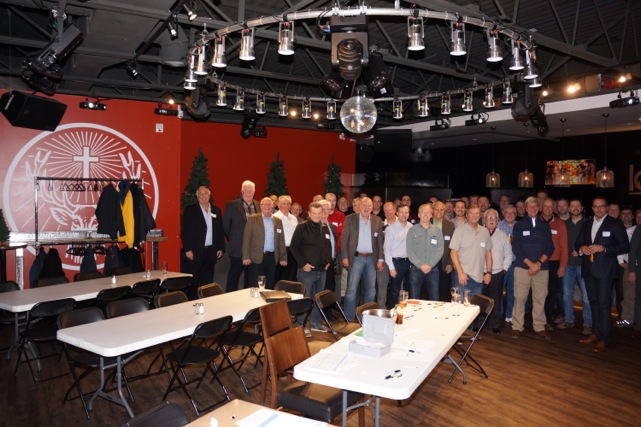 Fantastic turnout of guys for our inaugural meeting