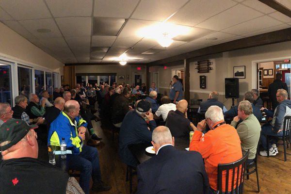 Full House at Guys Who Care October 2019 Meeting